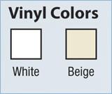 Vinyl Colour Option - A W Restoration